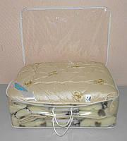 Одеяло евро размер мех в подарочном чемодане (ткань микрофибра наполнитель овчина ) (X-480), фото 1