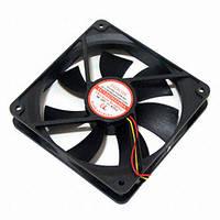 Вентилятор EC12025H24BA (потужність 7,68 Вт, напуга живлення 24В DC, 120х120х25мм, продуктивність 165 м3/рік)