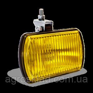 Фара противотуманная прямоугольная (желтое стекло)