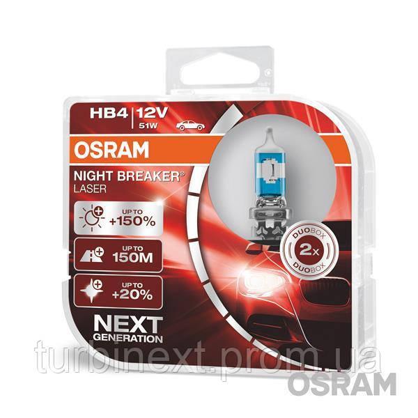 Автолампи галогенна 51W OSRAM OS 9006NL-HCB
