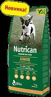 Nutrican Junior 15+2 кг корм для цуценят