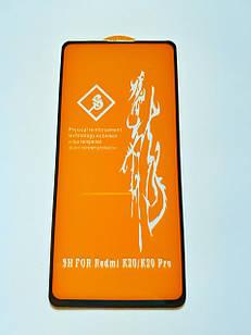 Захисне скло 6D для Xiaomi Mi 9T / Mi 9T Pro / Redmi K20 Full Glue Чорне