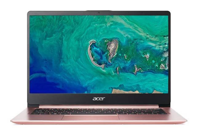 Ноутбук Acer Swift 1 SF114-32-P2J0 14FHD IPS AG/Intel Pen N5000/4/128F/int/Lin/Pink, фото 2