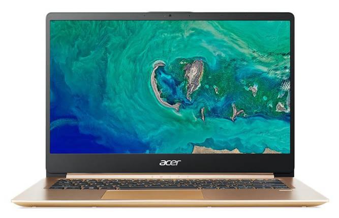 Ноутбук Acer Swift 1 SF114-32-P3G1 14FHD IPS AG/Intel Pen N5000/4/128F/int/W10/Gold, фото 2