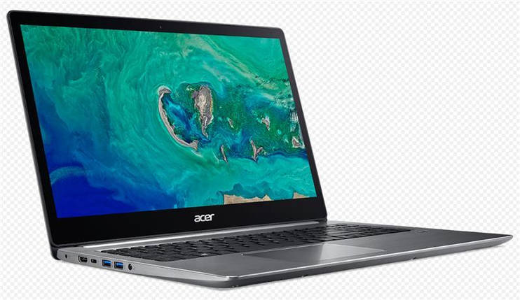"Ноутбук Acer Swift 3 SF315-41 15.6""FHD IPS/AMD Ryzen 5-2500U/8/256/int/Lin/Gray, фото 2"