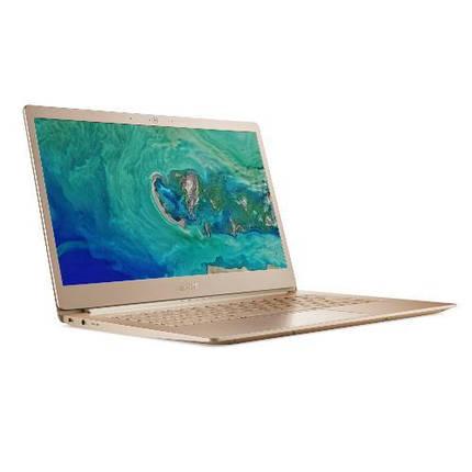 """Ноутбук Acer Swift 5 SF514-52T-897B 14""""FHD Touch/Intel i7-8550U/16/512F/HD620/W10/Gold, фото 2"""