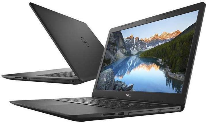 Ноутбук Dell Inspiron 5770 17.3FHD/Intel i3-7020U/4/1000/DVD/UHD620/Lin/Black/UKR, фото 2