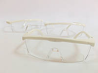 Защитные очки для мастеров маникюра и педикюра Белый