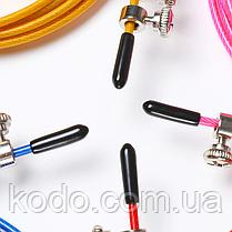 Скоростная скакалка на подшипниках (Система 2d вращения) кросфит, фото 2