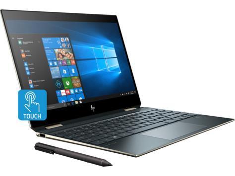 Ноутбук HP Spectre x360 15-df0040ur 15.6UHD IPS Touch/Intel i7-8750H/8/256F/NVD1050Ti-4/W10/Blue