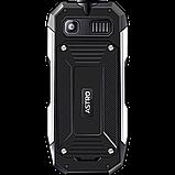 Противоударный телефон кнопочный на 2 сим карты с металлическими накладками Astro A223, фото 2