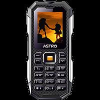 Противоударный телефон кнопочный на 2 сим карты с металлическими накладками Astro A223