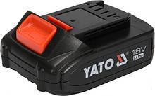 Аккумулятор LI-ION 18 В 2 Ач YATO YT-82842 (Польша)