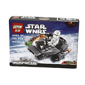 Конструктор LEPIN STAR WARS аналог LEGO 100 предметов снежный спидер (HT167)