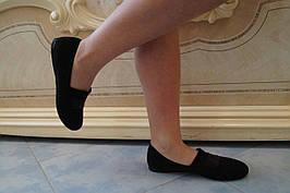 Туфлі жіночі еко замш. Підошва: чорна та біла. Різні забарвлення. Розміри: 36-42, код 4600О