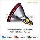 Инфракрасная лампа для обогрева PAR38 100 Вт Farma (Польша), фото 2