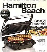 Гриль электрический 2 в 1 HAMILTON BEACH (BS114)