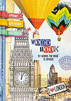 Тетрадь-словарь для записи иностранных слов Мандарин B5 48 листов,твердая обложка SL-B5-7BC-48