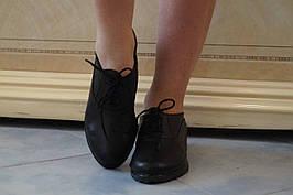 Туфлі шкіряні. Підошва: чорна та біла. Різні забарвлення. Розміри: 36-42, код 4603О