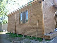 Строительство деревянных каркасно-щитовой домов