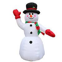 Надувной снеговик 240 см