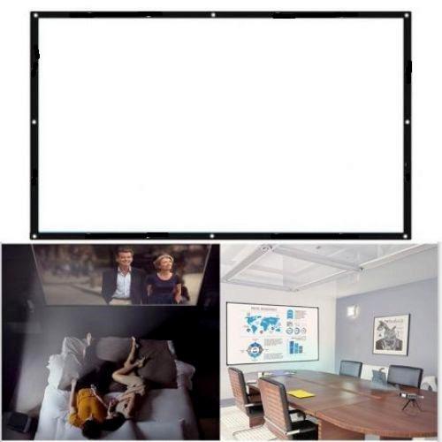 """Настінний екран для проектору 100"""" (in, дюймів) (254 см)"""