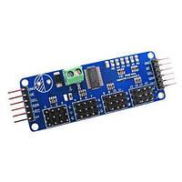 16-кан 12-бит ШИМ Серво контроллер PCA9685 ARDUINO (z00230)