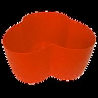 Горшок для кактусов 18х10,5х9 см (кактусник) красный 0,9 л , Украина