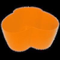 Горшок для кактусов 18х10,5х9 см (кактусник) оранжевый 0,9 л , Украина