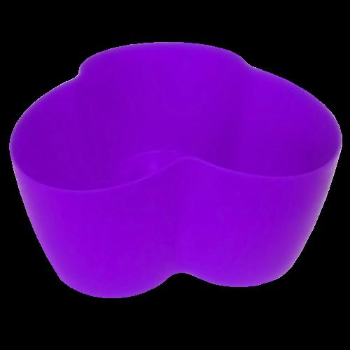 Горшок для кактусов, темно-фиалетовый 18*10,5*9 , 0,9л, Украина
