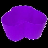 Горшок для кактусов 18х10,5х9 см (кактусник) фиолетовый 0,9 л , Украина