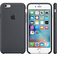 Чехол Apple Silicone Case Apple iPhone 6 Plus, 6S Plus Тёмно - Серый