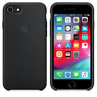 Чехол - Накладка Apple Silicone Case Apple iPhone 6, iPhone 6S  Black