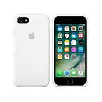 Чехол Apple Silicone Case Apple iPhone 7, 8 Белый