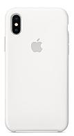 Чехол Apple Silicone Case Apple iPhone X, XS Белый