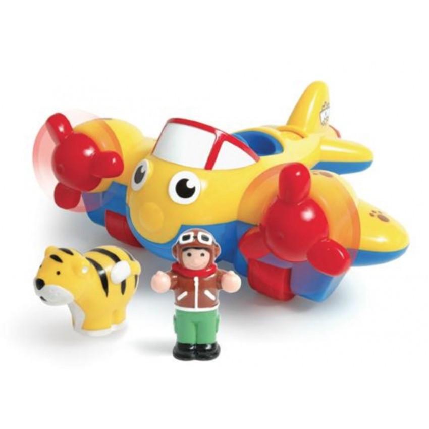 Игровой набор Johnny Jungle Plane Джунгли, самолет Джонни WOW TOYS 01013
