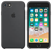 Чехол Apple Silicone Case Apple iPhone 6, iPhone 6S Тёмно - Серый