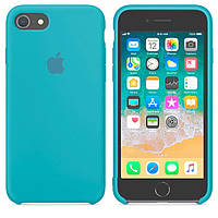 Чехол Apple Silicone Case Apple iPhone 7 Plus, iPhone 8 Plus Голубой
