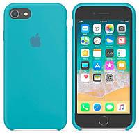 Чехол Apple Silicone Case Apple iPhone X, iPhone XS Голубой
