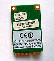 378 Wi-Fi Atheros AR5BXB63 AR5007EG 802.11 b/g Mini PCI-Express 54 Mbps модуль для ноутбука