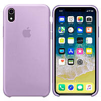 Чехол Apple Silicone Case Apple iPhone XR Сиреневый