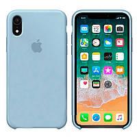 Чехол Apple Silicone Case Apple iPhone XR Светло - Голубой