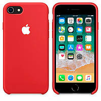 Чехол Apple Silicone Case Apple iPhone 7 Plus, iPhone 8 PlusКрасный