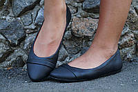 Балетки женские кожаные или эко кожа. Подошва: черная и белая. Разные расцветки. Размеры: 36-42, код 4614О
