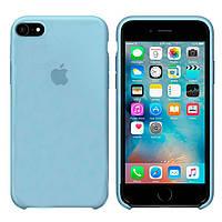 Чехол Apple Silicone Case Apple iPhone 6, iPhone 6S Светло - Голубой