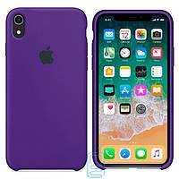 Чехол Apple Silicone Case Apple iPhone XS MaxФиолетовый