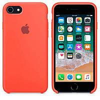 Чехол Apple Silicone Case Apple iPhone 6, iPhone 6SСветло - Оранжевый