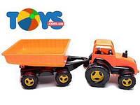 Трактор-каталка с прицепом, 5013