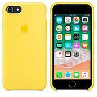 Чехол Apple Silicone Case Apple iPhone 7 Plus, iPhone 8 Plus Желтый
