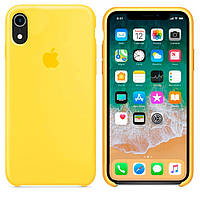 Чехол Apple Silicone Case Apple iPhone XR Желтый